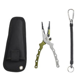 Versatile Aluminum Fishing Pliers with Case
