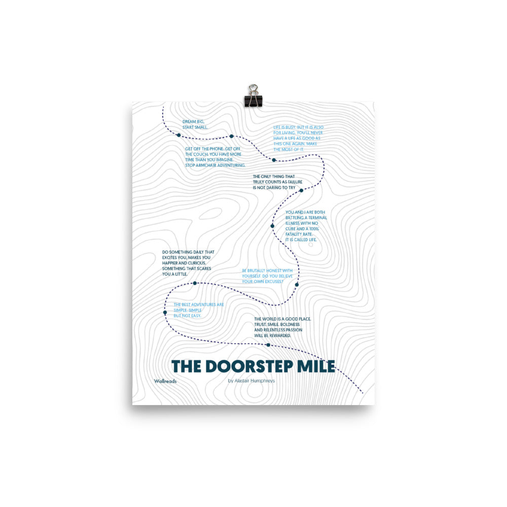 The Doorstep Mile - Quote Map