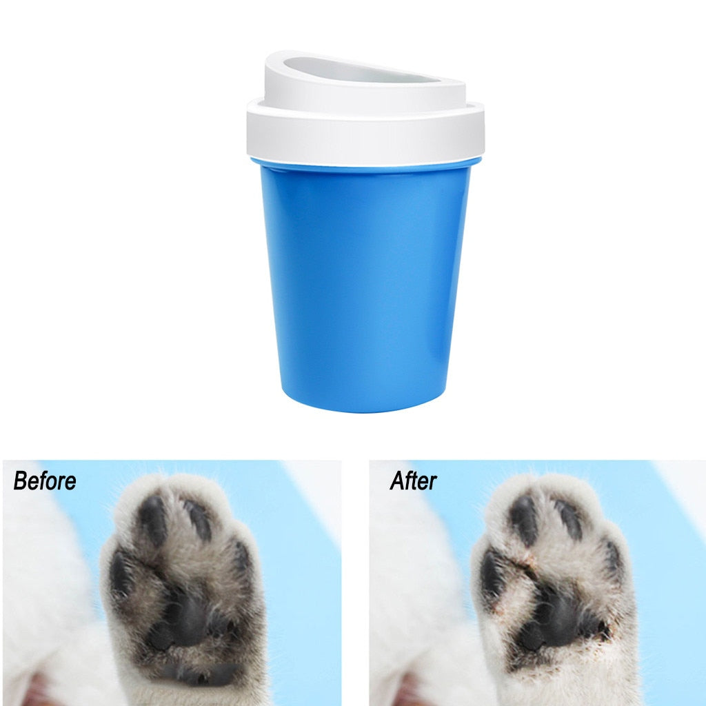 Dog Paw Cleaning Cup Brush   - Luxtrak