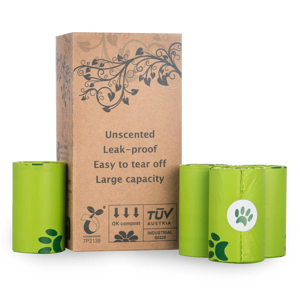 Plastic-Free Compostable & Biodegradable Pet Waste Bags