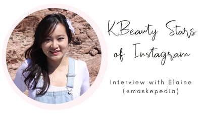 KBeauty Stars of Instagram: Interview with Elaine (@maskepedia)