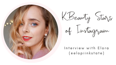 KBeauty Stars of Instagram: Interview with Elora (@elopiinkstate)