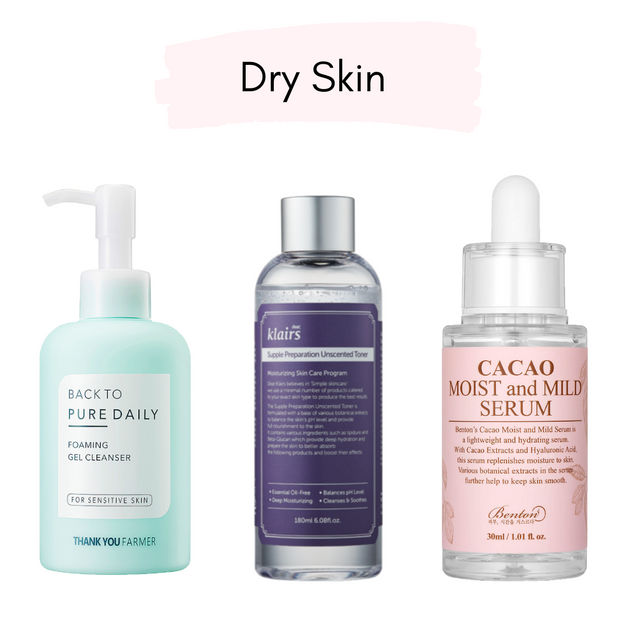 Korean Beauty Glass Skin Kit (3 piece set)