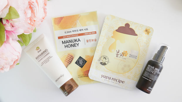 KBeauty Booster Kit (May Kit - Snails & Honey)