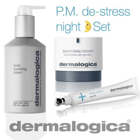 P.M. De-Stress (Night Skin Set)