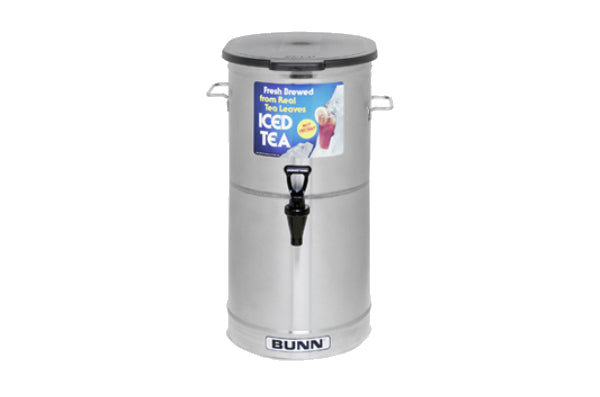 Bunn Iced Tea Dispenser Oval w/ Solid Lid