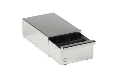 Concept Art Mini Stainless Steel Knock Drawer