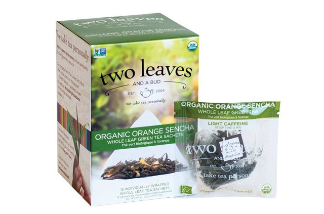 Organic Orange Sencha Tea