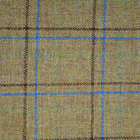 kogoni mustard check tweed