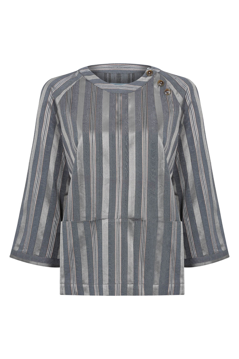 women's smock silk cotton