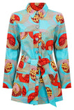 women's dutch wax jacket safari shirt