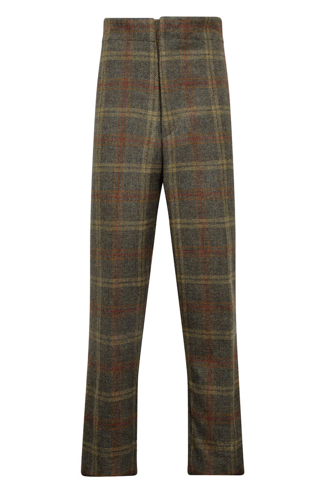tweed tailored mens trousers