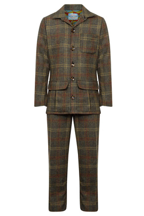 men's tweed suit