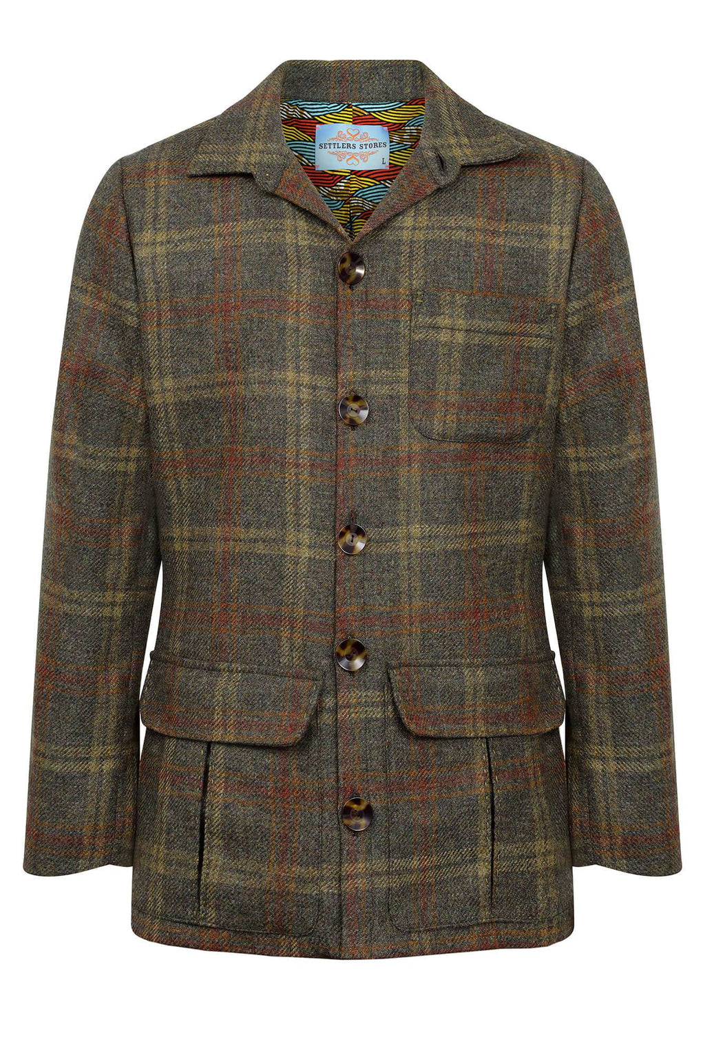 men's tailored tweed jacket
