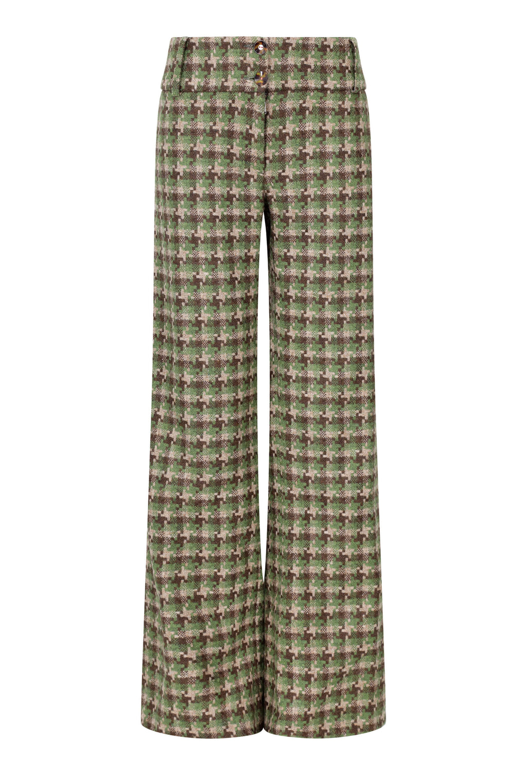 cammo-tweed-womens-flared-trousers