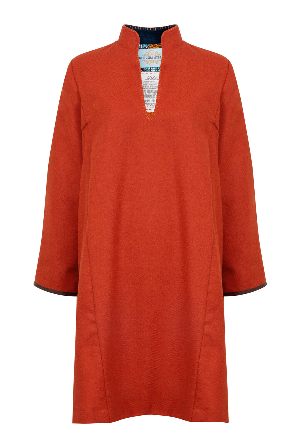 burnt-orange-scottish-tweed-coat-robe