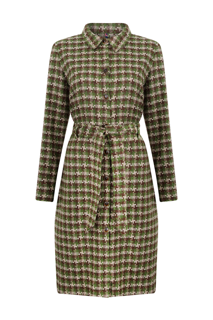 scottish-cammo-green-tweed-coat-dress