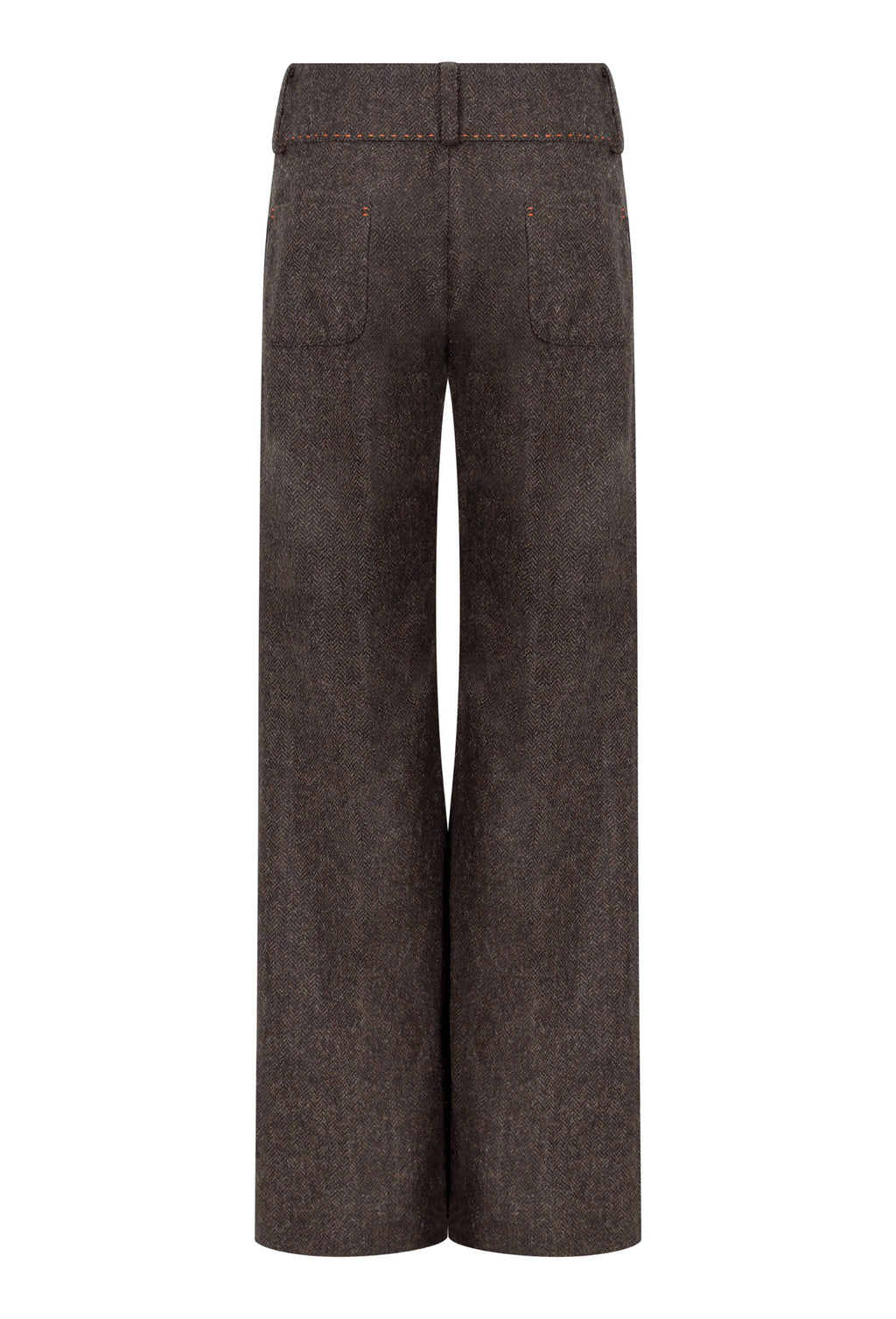 chocolate-brownp-herringbone-tweed-trousers