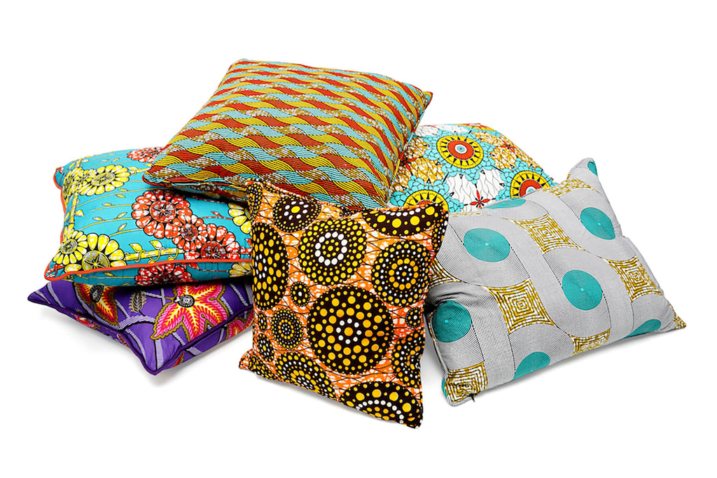 dutch wax cushion collection