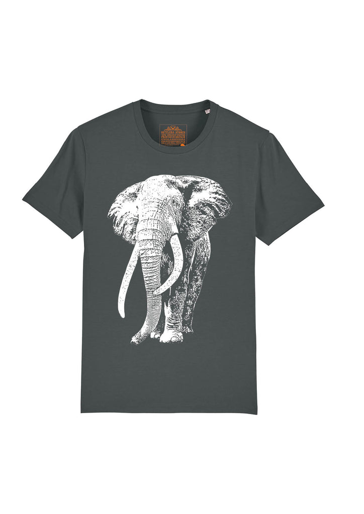 grey-short-sleeved-organic-cotton-t-shirt-white-elephant