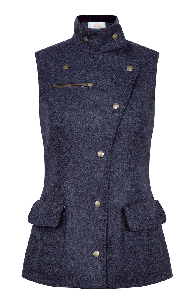 blue-tweed-fitted-waistcoat-womens