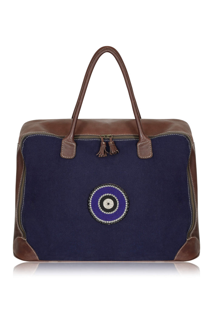 navy-suitcase-leather-canvas-luggage-dutch-wax