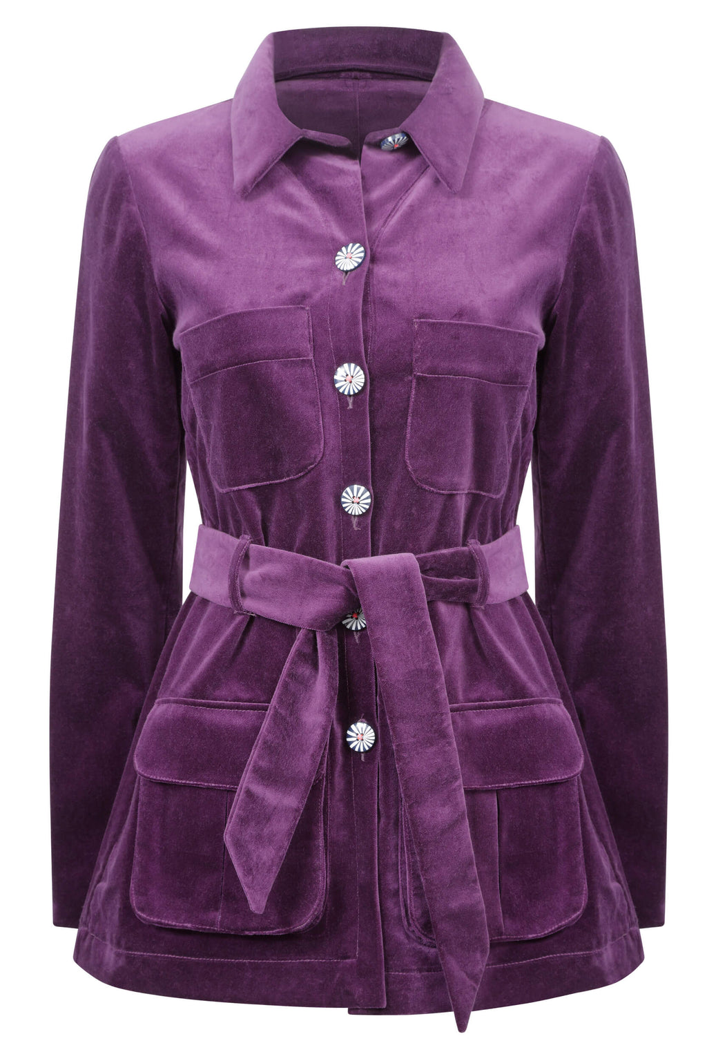 purple-velvet-safari-jacket-trouser-suit-womens