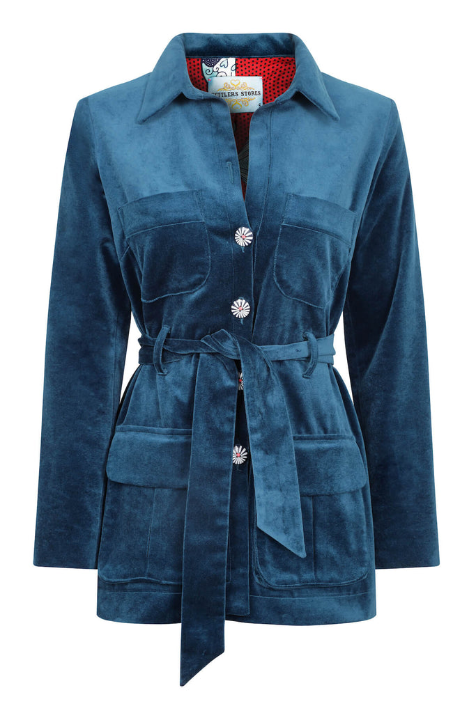 teal-velvet-safari-jacket-womens