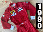 Alain Prost 1990 Replica racing suit / Ferrari F1