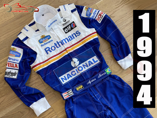 Ayrton Senna 1994 Replica racing suit / Williams F1