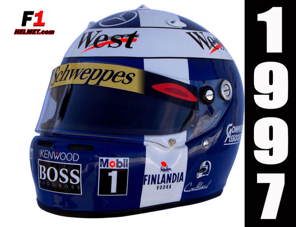 David Coulthard 1997 Replica Helmet / Mc Laren F1 - www.F1Helmet.com