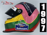 Jaques Villeneuve 1997 Replica Helmet / Williams F1