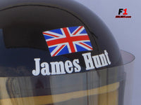 James Hunt season 1976 replica helmet / Mc Laren F1 - www.F1Helmet.com