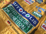 Michael Schumacher 1992 Replica racing suit / Benetton F1 - www.F1Helmet.com