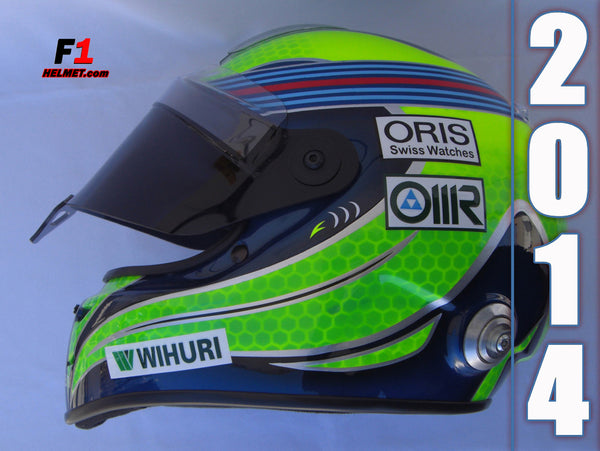 Felipe Massa 2014 Replica Helmet / Williams F1 - www.F1Helmet.com