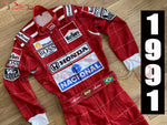 Ayrton Senna 1991 Replica racing suit / Mc Laren F1