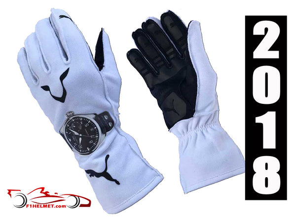 Lewis Hamilton 2018 Replica racing gloves / Mercedes Benz F1 - www.F1Helmet.com