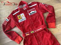 Michael Schumacher 1996 Replica racing suit / Ferrari F1
