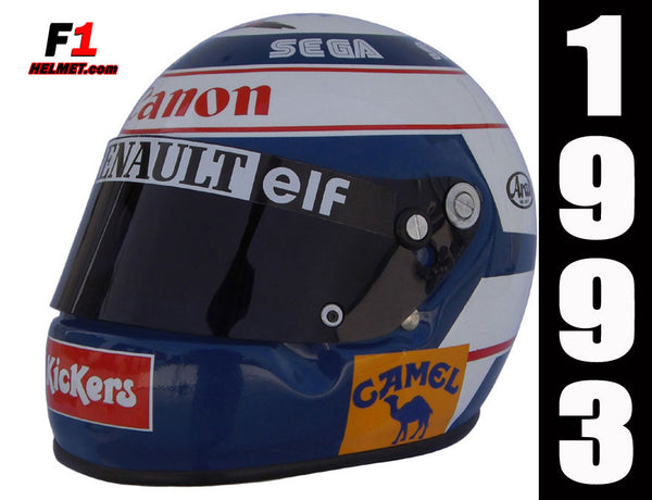 Alain Prost 1993 Replica Helmet / Williams F1 - www.F1Helmet.com
