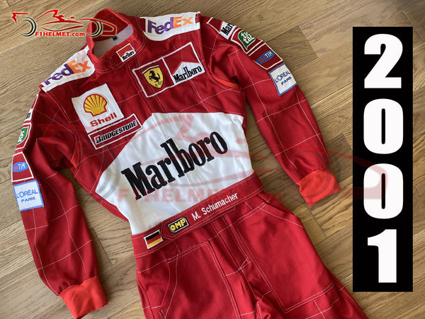 Michael Schumacher 2001 Replica racing suit / Ferrari F1