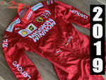 Vettel 2019 Mission Winnow Replica racing suit / Ferrari F1 - www.F1Helmet.com