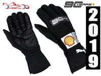 Sebastian Vettel 2019 Racing Gloves / 90 YEARS Ferrari F1