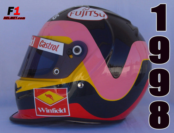 Jaques Villeneuve 1998 Replica Helmet / Williams F1 - www.F1Helmet.com