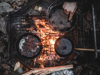 How To Season Cast Iron Pans & Skillets