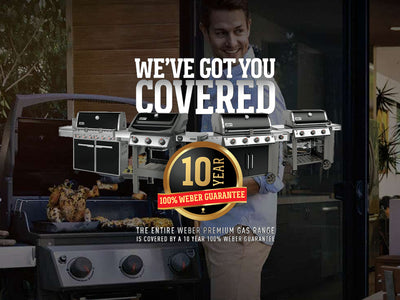 10 Year, 100% Weber Guarantee