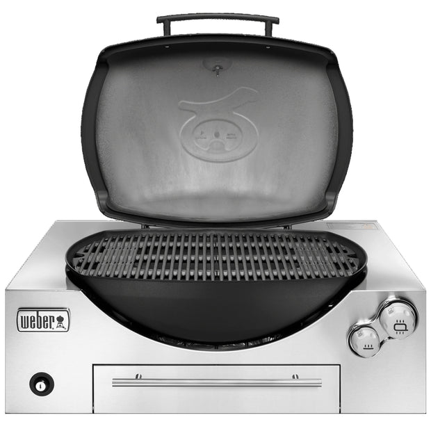 Weber Family Q3600 Built-In Black