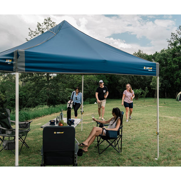 Oztrail 3.0 Deluxe Gazebo with Hydro Flow