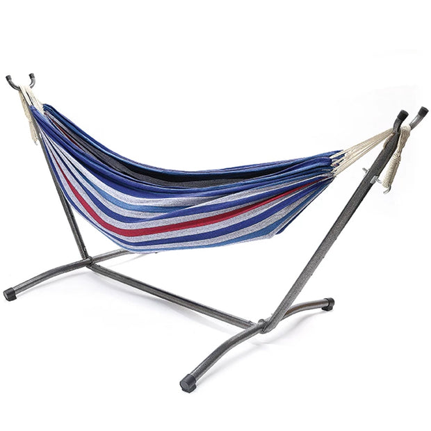 Anywhere Double Hammock with Steel Frame