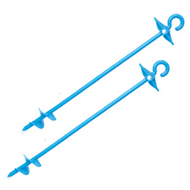 Large Bluescrew Pegs (2 pack)