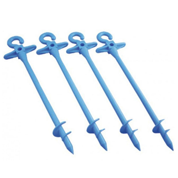 Small Bluescrew Pegs (4 pack)